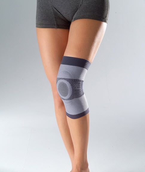 Knee sleeve (orthopedic immobilization) / with patellar buttress HKN0100 Huntex Corporation