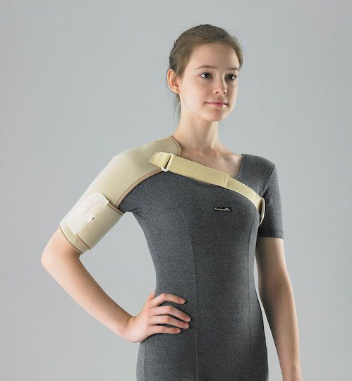 Shoulder orthosis (orthopedic immobilization) / immobilisation / flexible HSHF100 Huntex Corporation