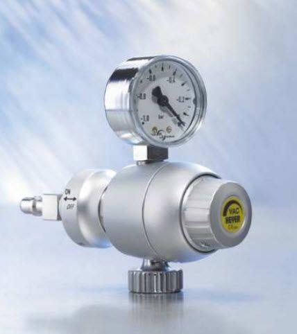 Vacuum regulator / plug-in type 660-0236 HEYER Medical