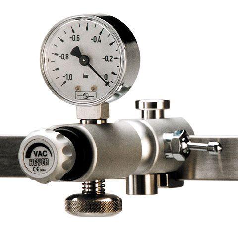Rail-mounted vacuum regulator 660-0245 HEYER Medical