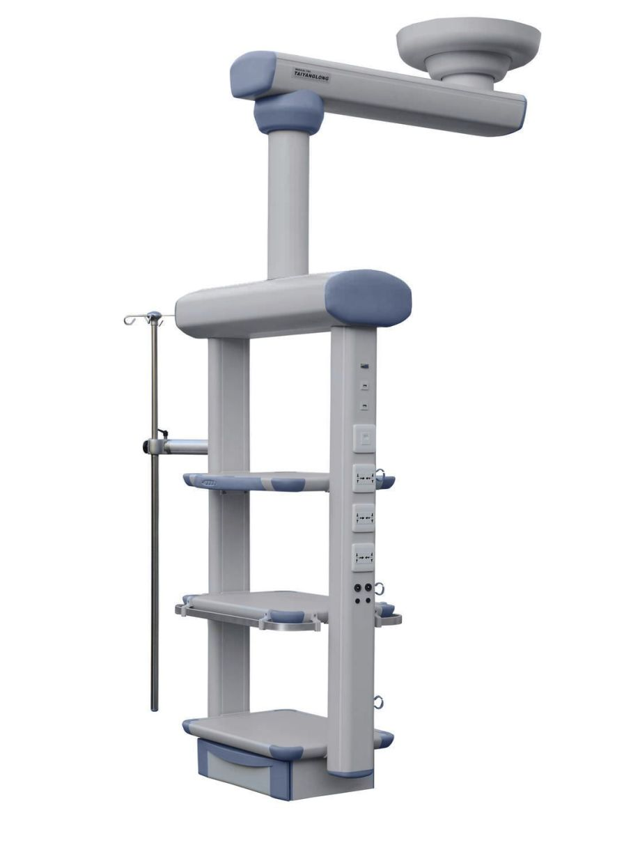 Ceiling-mounted medical pendant / articulated / single-arm / ICU YDT-IDT Hunan taiyanglong medical
