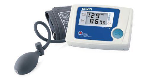 Semi-automatic blood pressure monitor / electronic / arm LD-327 Honsun