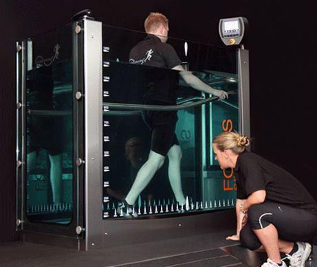 Hydrotherapy treadmill FOCUS Hydro Physio