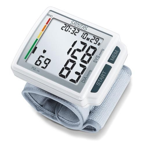 Automatic blood pressure monitor / electronic / wrist SANITAS SBC 41 Hans Dinslage