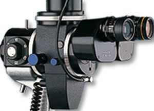 Slit lamp with digital video camera BX 900® Haag-Streit Diagnostics