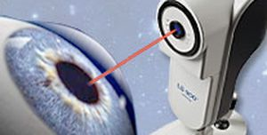 Pupil meter (ophthalmic examination) / keratometer / ophthalmic biometer / pachymeter LENSTAR LS 900® Haag-Streit Diagnostics