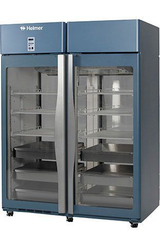 Pharmacy refrigerator / cabinet / 2-door HPR456 Helmer