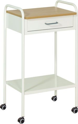 Bedside table / on casters H-845 CR Hidemar