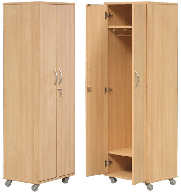 Medical cabinet / patient room / 2-door H-853 Hidemar