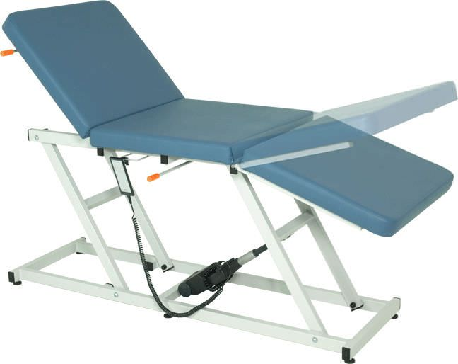 Electrical examination table / height-adjustable / 3-section H-206 Hidemar