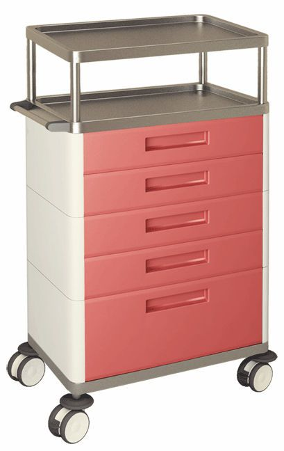 Multi-function trolley / with drawer / 1-tray H-725 Hidemar