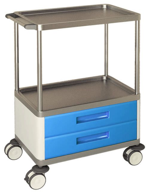 Multi-function trolley / with drawer / 1-tray H-742 Hidemar
