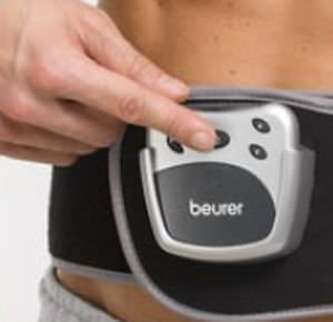(physiotherapy) / electro-stimulation belt / TENS EM 38 Beurer