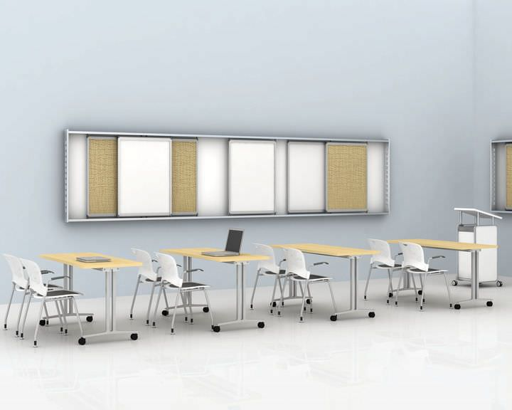 Rectangular table Everywhere series Herman Miller
