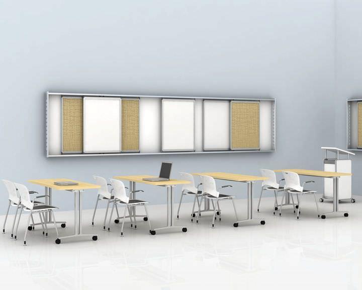 Rectangular table Everywhere series Herman Miller