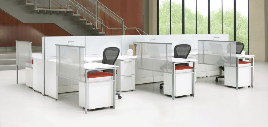 Modular office / for healthcare facilities Ethospace System Herman Miller