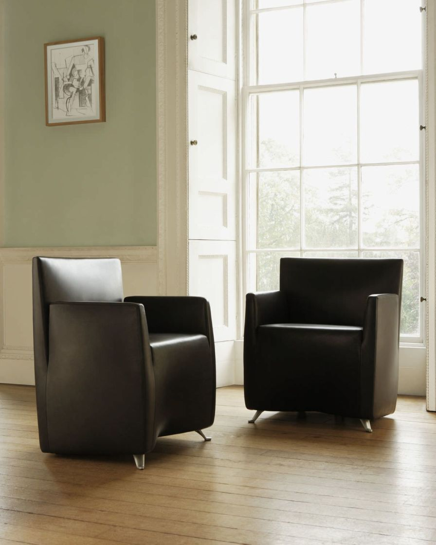 Waiting room armchair Capri Herman Miller