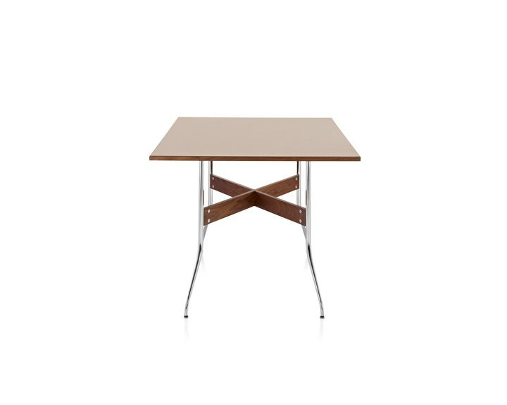 Rectangular table Nelson Swag Leg Herman Miller