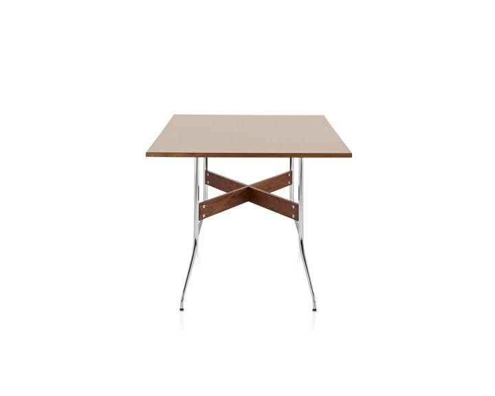 Rectangular table Nelson Swag Leg Herman Miller