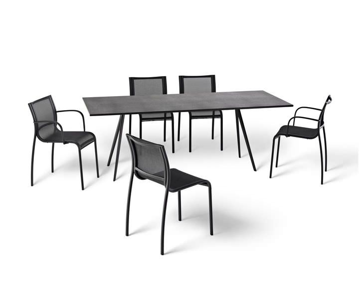 Square table Baguette Herman Miller