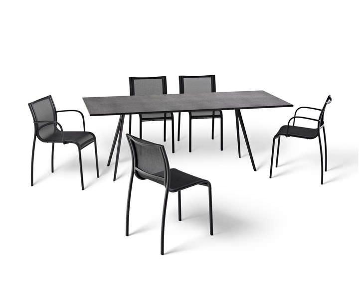 Square table Baguette Herman Miller