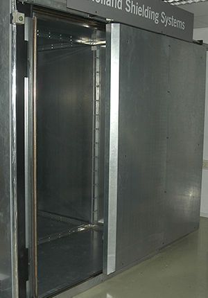Automatic door / sliding / for MRI / RF-shielded Holland Shielding Systems B.V.
