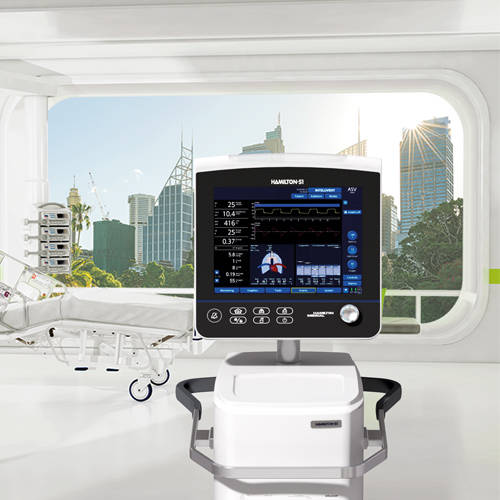 HAMILTON-S1 Ventilator: The world's first Ventilation Autopilot