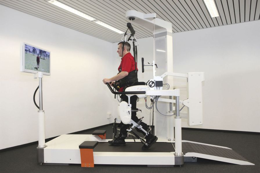 Walking rehabilitation system / computer-based LOKOMAT® PRO Hocoma