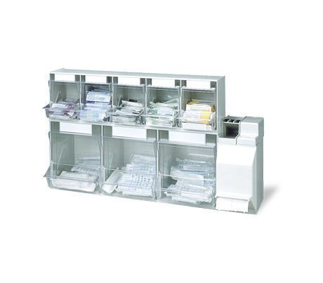 Storage cabinet / medicine / for healthcare facilities / wall-mounted PicBox® + Medi-Müll HAEBERLE