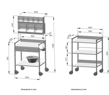 Multi-function trolley / modular Variocar®, Variocar® Viva HAEBERLE