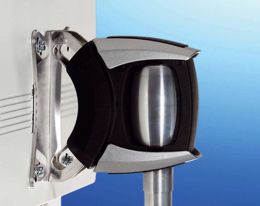 Medical monitor support arm / wall-mounted alegro HAEBERLE