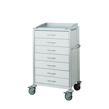 Multi-function trolley / with tambour door / modular / single module keo® HAEBERLE