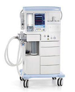 Anesthesia workstation with gas blender / non-magnetic Leon Heinen und Löwenstein