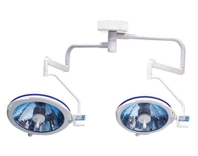 Halogen surgical light / ceiling-mounted / 2-arm 140000 - 160000 lux | Toplite-F Heal Force