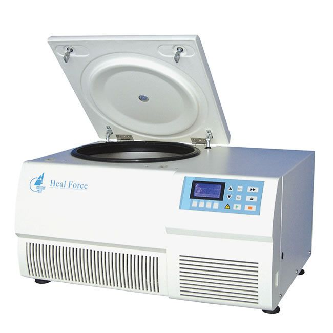 Laboratory centrifuge / bench-top / refrigerated 300 - 23300 rpm | Neofuge 23R Heal Force