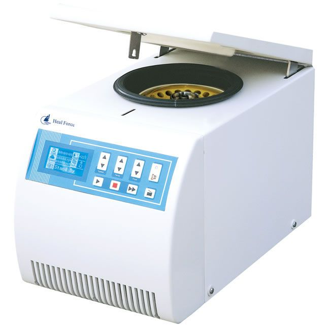 Laboratory centrifuge / bench-top / refrigerated 13800 rpm | Neofuge 13R/13 Heal Force