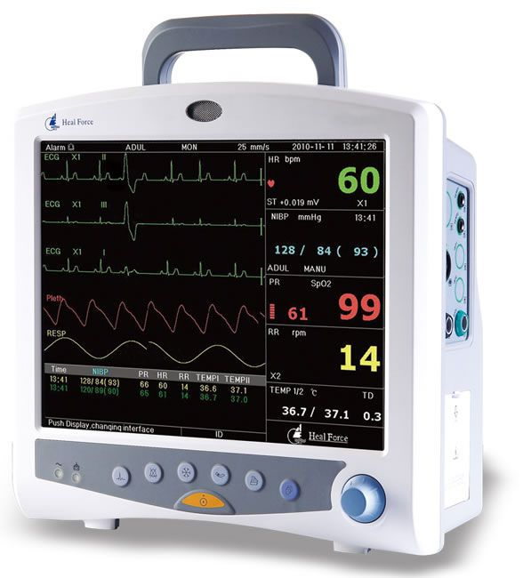 Compact multi-parameter monitor / transport 14,1"