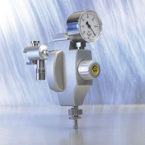 Rail-mounted vacuum regulator / thoracic -40 - 0 mbar, 40 L/mn | 660-0291 Heyer Aerotech