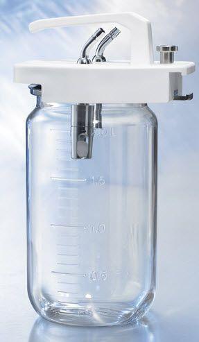 Medical suction pump jar 1 - 3 L | 623-1050, 623-1060 Heyer Aerotech