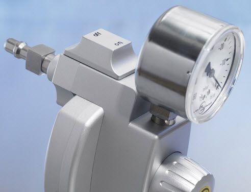 Vacuum regulator / plug-in type / thoracic -40 - 0 mbar, 40 L/mn | 660-0290 Heyer Aerotech