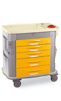 Multi-function trolley / with drawer MG-UT5 Gamma Poliuretani