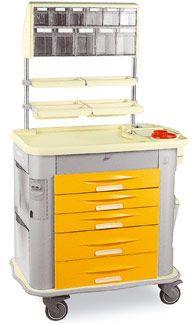 Medicine distribution trolley / with drawer MG-MED Gamma Poliuretani