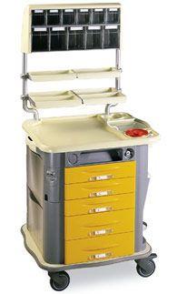 Medicine distribution trolley / with drawer CP-MED Gamma Poliuretani