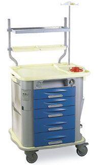 Anesthesia trolley / with shelf unit CP-AN2 Gamma Poliuretani