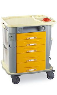 Multi-function trolley / with drawer CP-UT5 Gamma Poliuretani