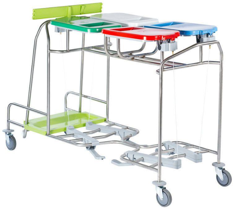 Linen trolley / 4-bag CBW40 - CBW40P Francehopital