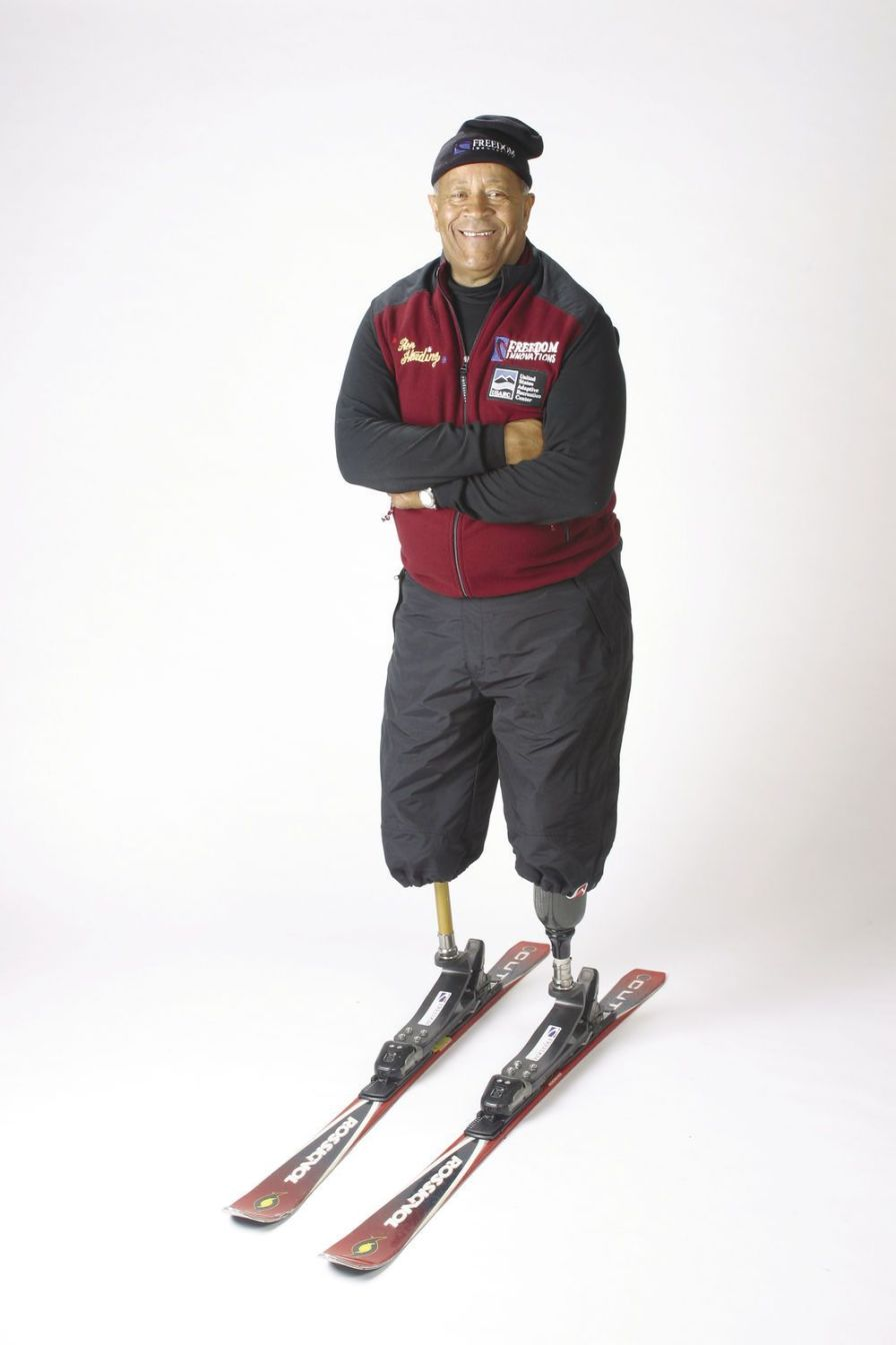 Foot prosthesis (lower extremity) / shock absorption / class 4 / for skiing Slalom Ski Freedom Innovations