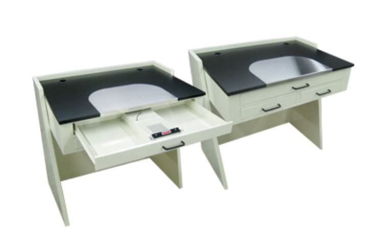Dental laboratory workstation / 1-station PTL-211 Handler MFG. Co., Inc.- Red Wing Int'l