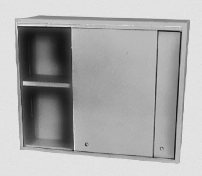 Medical cabinet / for healthcare facilities / wall-mounted 275 Handler MFG. Co., Inc.- Red Wing Int'l
