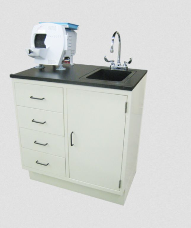 Dental laboratory workstation / with sink / 1-station PTL-231 Handler MFG. Co., Inc.- Red Wing Int'l